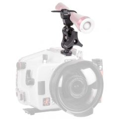 Ikelite 1887.1 DSLR Top Mount Kit for Gamma with 1″ Ball